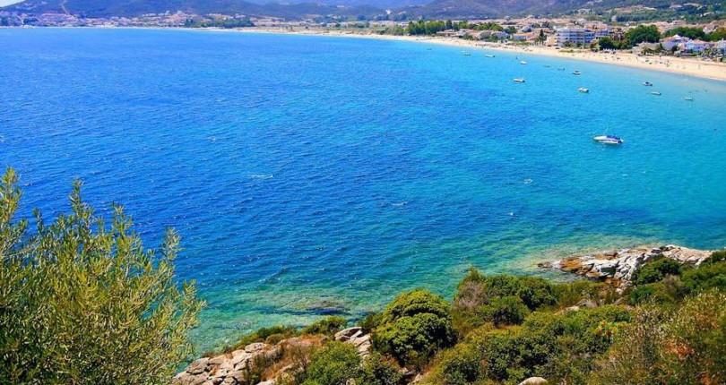 Сините флагове на Северното гръцко крайбрежие